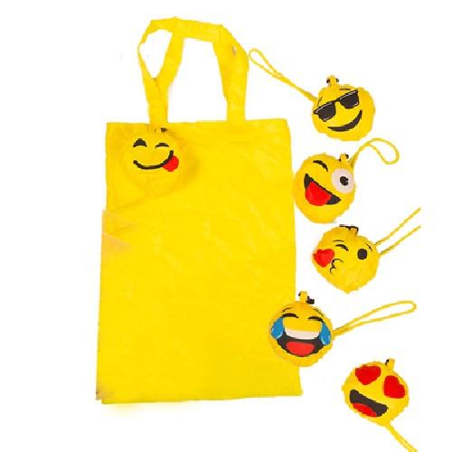 Emoticon - Faltbare Einkaufstasche