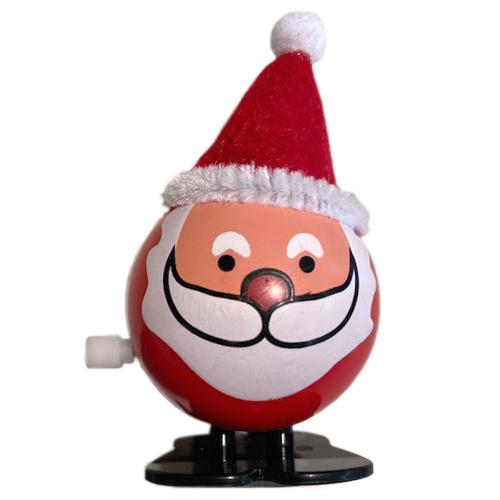 Aufziehfigur Weihnachtsmann