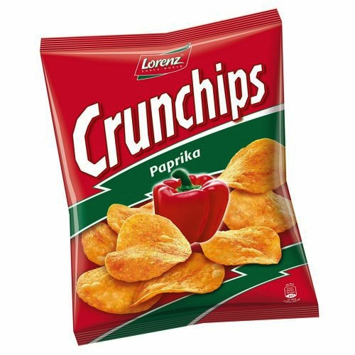 Crunchips Paprika 25g-Packung