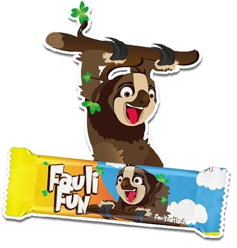 Fauli Fun Faultier Waffelriegel