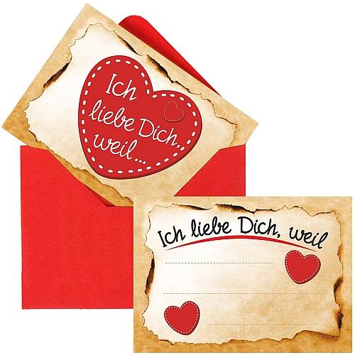 Die Liebes-Botschaft für den Adventskalender (1 Karte inkl. Umschlag)