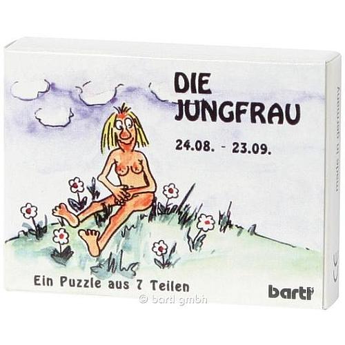 Mini Sternzeichen Puzzle Jungfrau