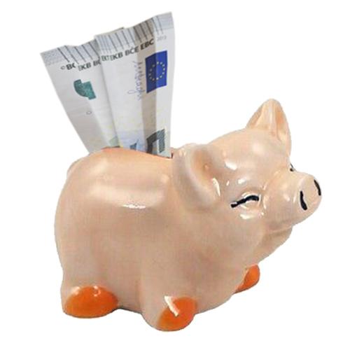 Mini Sparschwein aus Keramik