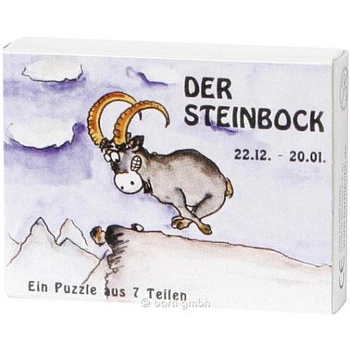 Mini Sternzeichen Puzzle Steinbock