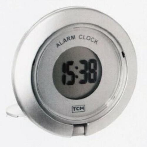 Tchibo Digital Klapp Reisewecker Wecker LCD Uhr