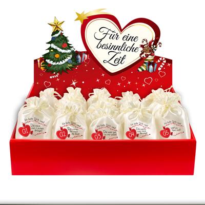 Ich liebe Dich weil ...<br><br>inkl. Adventsbox Love
