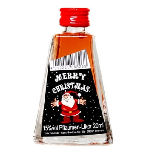 Merry Christmas Likör - Weihnachtsmann