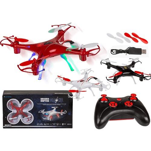 Ferngesteuerte Drone mit LEDs