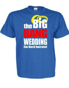 The Big Bang Wedding - Bestellvorschlag 1