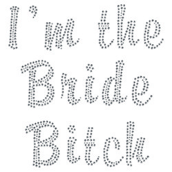Strass The bride bitch
