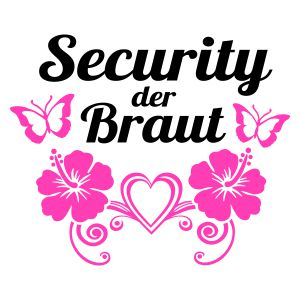 Security der Braut