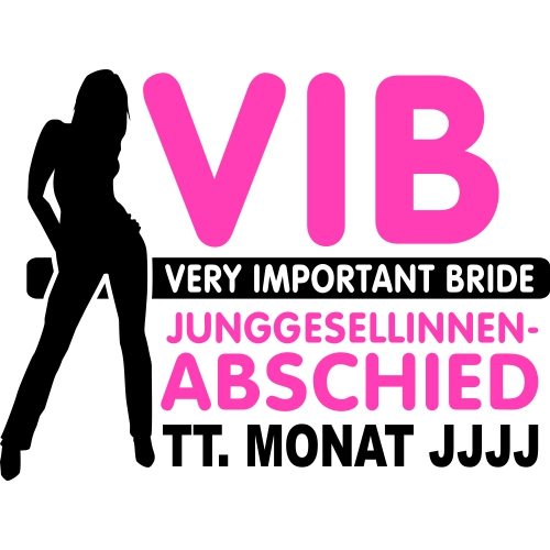 VIB - Very Important Bride